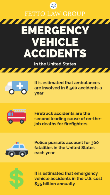 emergency vehicle accidents information